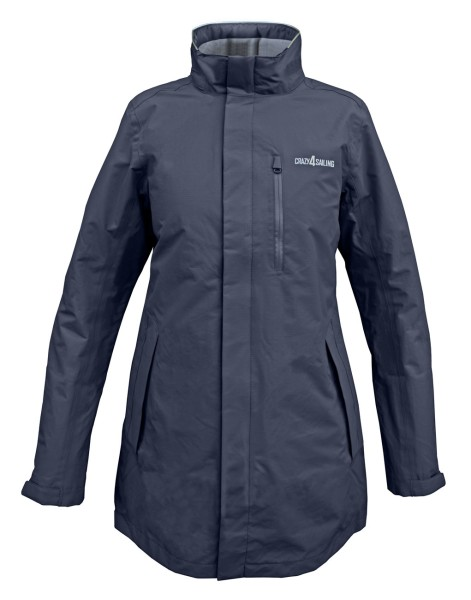 C4S Brighton Ladies Jacket Long, navy