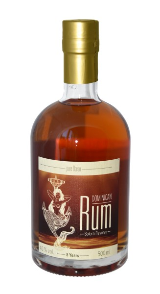 Pure Ocean Spiced Rum 8 Years 40% vol. 500 ml