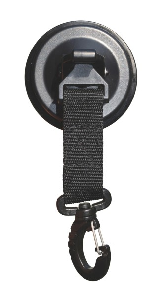 SUCTION CUP WITH SWIVEL HOOK