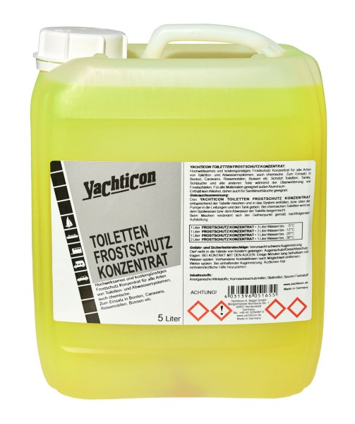 Toilet Anti Freeze Concentrate 5 Litres