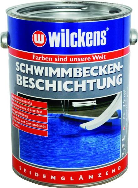 WILKENS Pool Coating pool blue 2500 ml