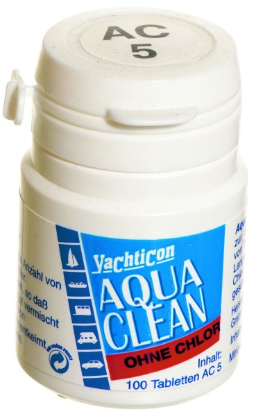 Aqua Clean AC 5 -ohne Chlor- 100 Tabletten