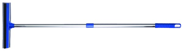 Squeegee with telescopic pole
