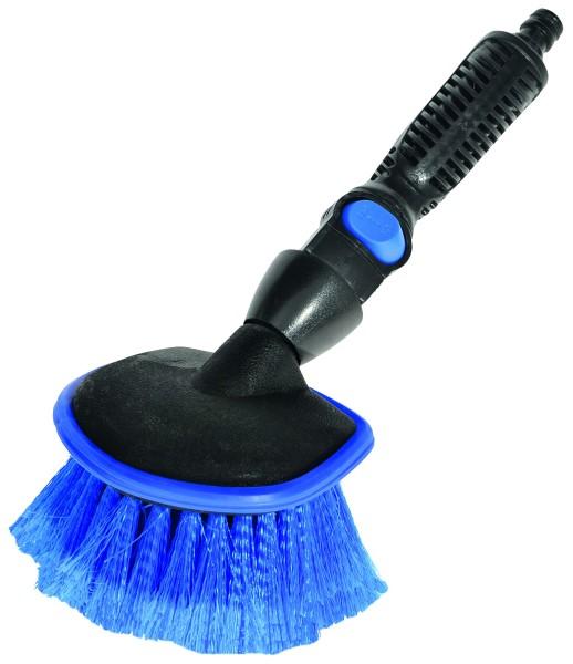 Hand Wash Brush round with water flow-through 26,5 cm