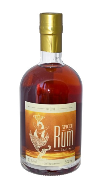 Pure Ocean Spiced Rum Cocos 40% vol. 500 ml