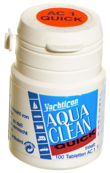 Aqua Clean AC 1 -quick- 100 Tablets