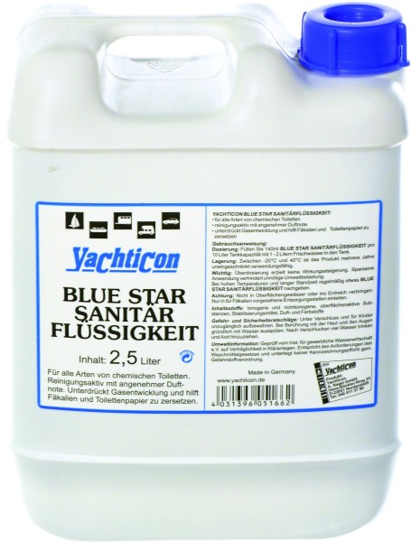 Blue Star Sanitary Liquid 2,5 Litres