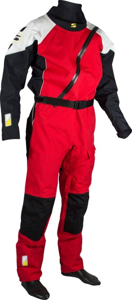 Dry suit PRO II S red/white/black