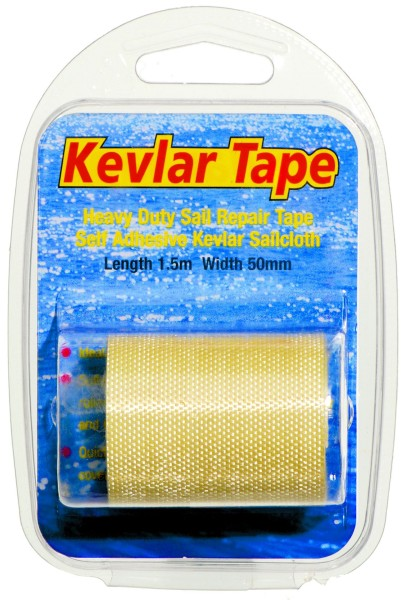 Kevlar Sail Repair Tape 1,5 m x 50 mm gold