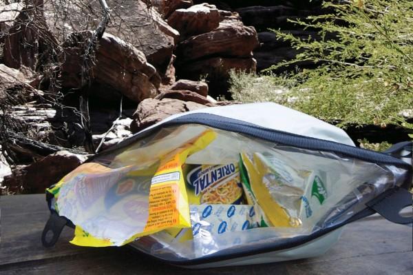 Trash Dry Sack - Abfallsack grau
