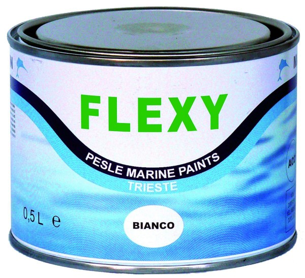 Flexy Flexible Rubber Paint for Inflatible Boats 500 ml white