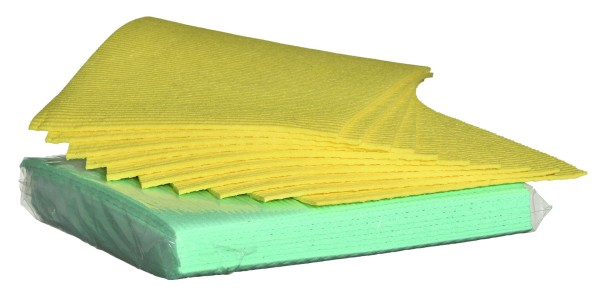 Sponge Cloth 31 x 25cm, 10 pcs. Bag