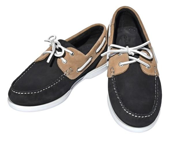 QUAYSIDE Ladies Shoe Bermuda - navy/sand