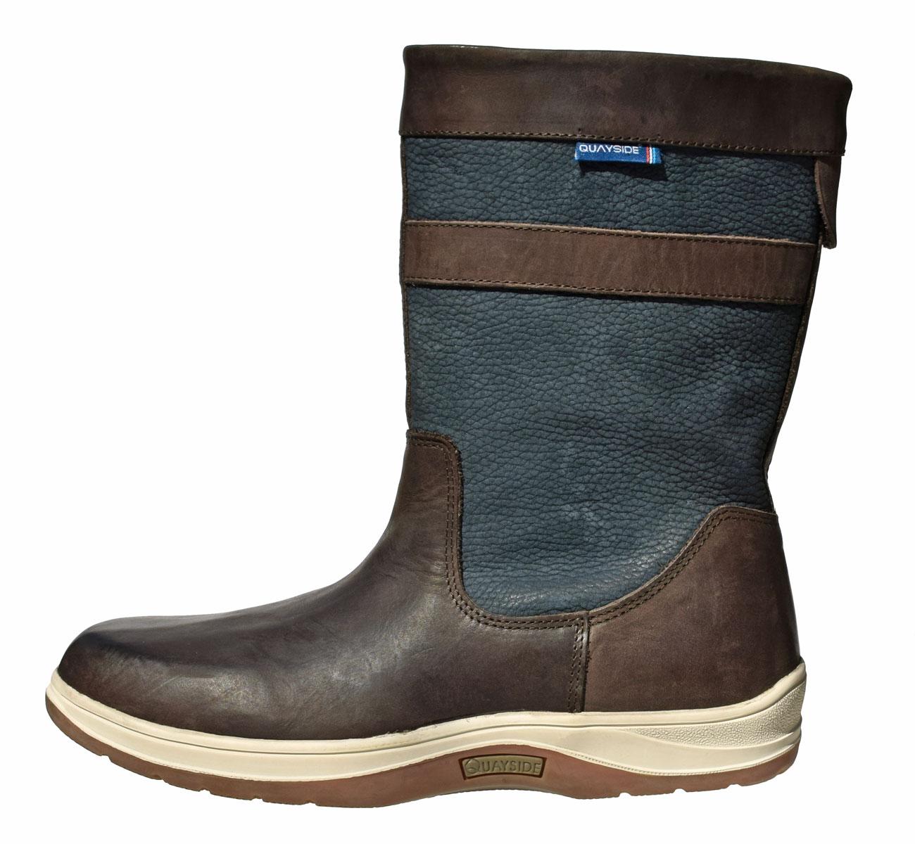 0022f85a18e QUAYSIDE Coastal Half Boots - navy/chestnut