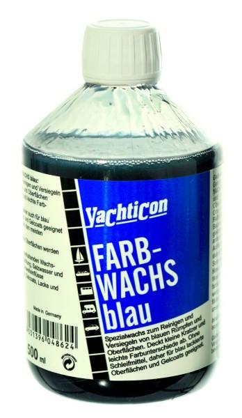 Farbwachs blau 500 ml