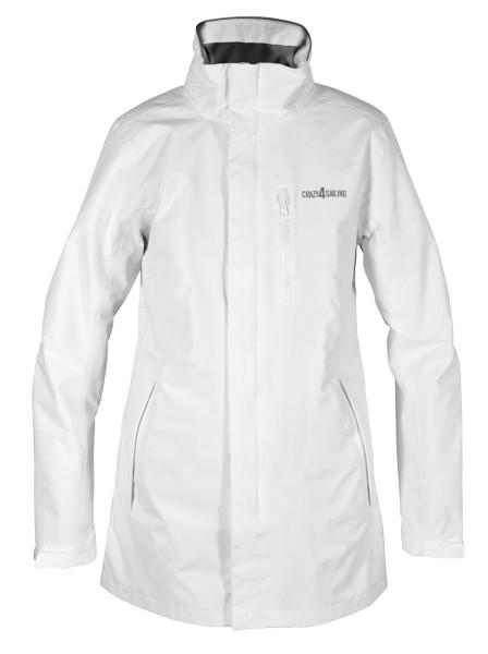 C4S Brighton Ladies Jacket Long, white