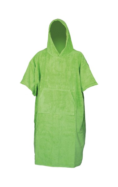 Poncho Towel green