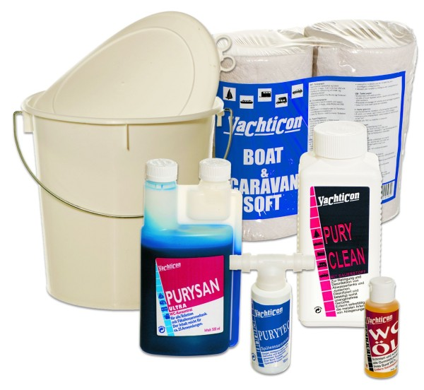 Toilet Treatment Set