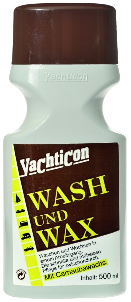 Wash and Wax 500 ml