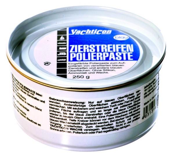 Zierstreifen Polierpaste blau 250 g