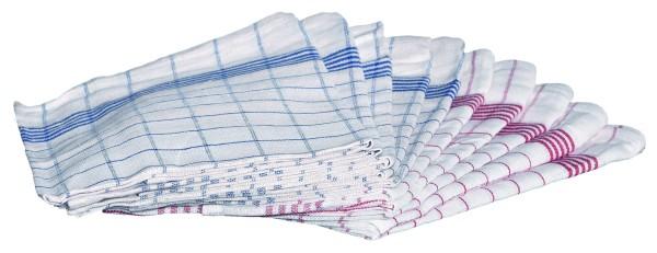 Geschirrtücher 100% Baumwolle 50 x 70 cm, 10er Packung