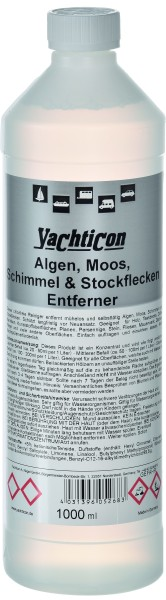 Algen, Moos, Schimmel & Stockflecken Entferner 1000 ml