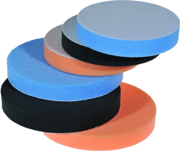 Polishing Cushion Pad hard orange Ø150 x 25 mm