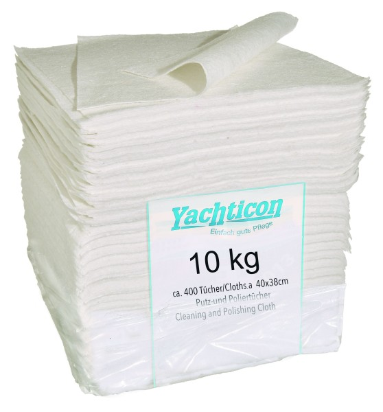 Cleaning and Polishing Cloths 10 kg (ca. 400 Cloths à 40 x 38 cm)