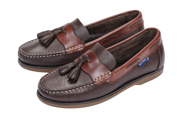 QUAYSIDE Ladies Shoe Capri - conker/chestnut