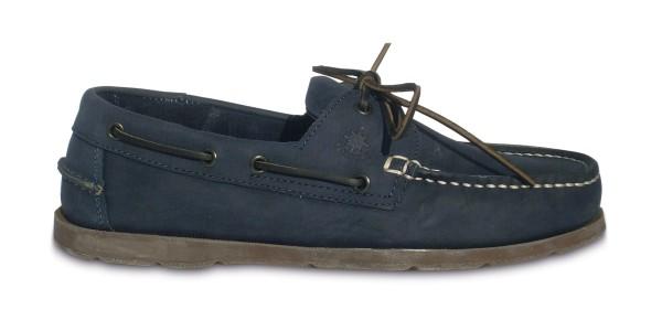 Schuh Vermont Nubuck Navy / br. Sohle Gr. 41