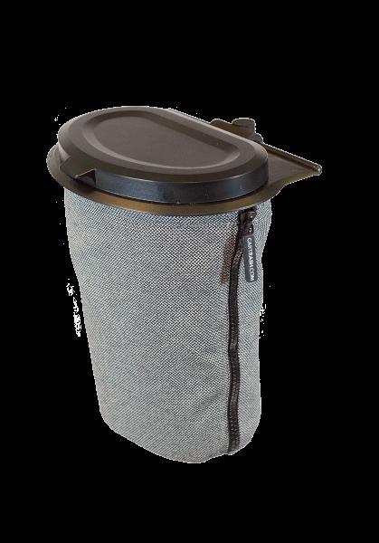 Flextrash - Der modulare Müllbehälter, grau