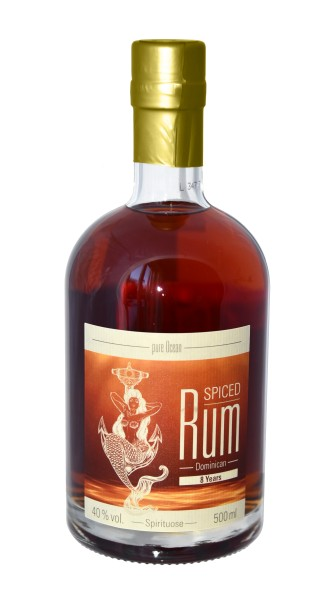 Pure Ocean Dominikanischer Rum 8 Years 40% vol. 500 ml