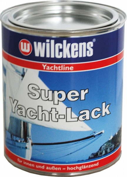 WILKENS Super-Yacht Laquer RAL 3000 fire red 750 ml