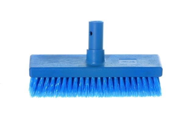 Bürste mittel blau mit Wasserdurchlauf