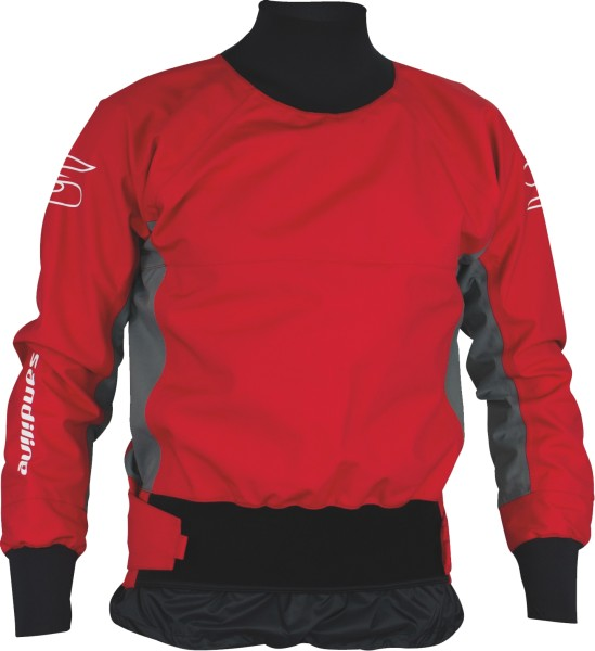 Jacket School 4L double belt red
