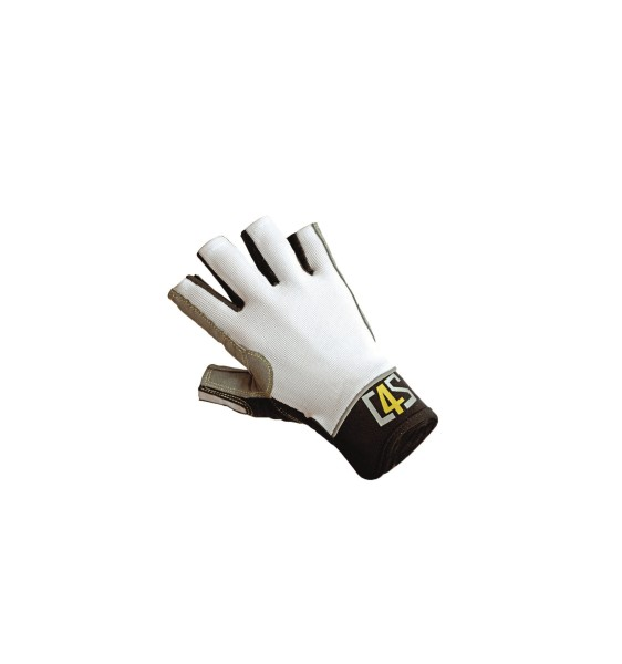 C4S Racing Gloves, white, XS