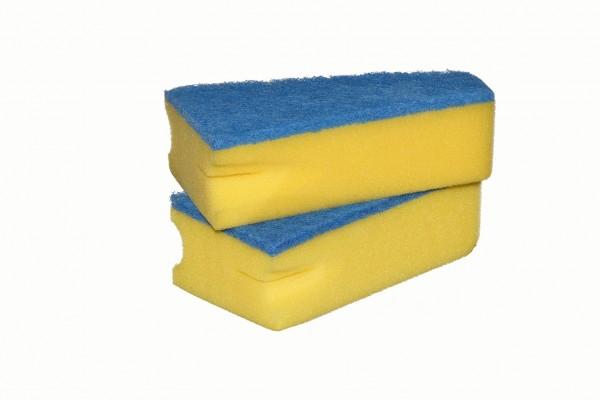Wedge Sponge 135 x 80/30 x 45 mm, 2 pcs. pack