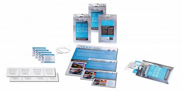 Tear-Aid Reparaturset Typ A, für alle Oberflächen außer Vinyl/PVC