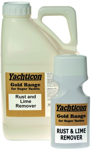 Superyacht Rust and Lime Remover 5 Liter