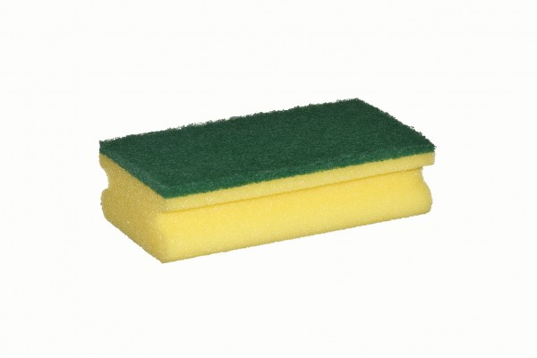 Grip Fleece Sponge yellow/green 150 x 90 x 45 mm