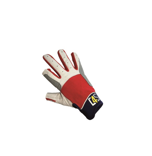 C4S Cruising Gloves, red, XS
