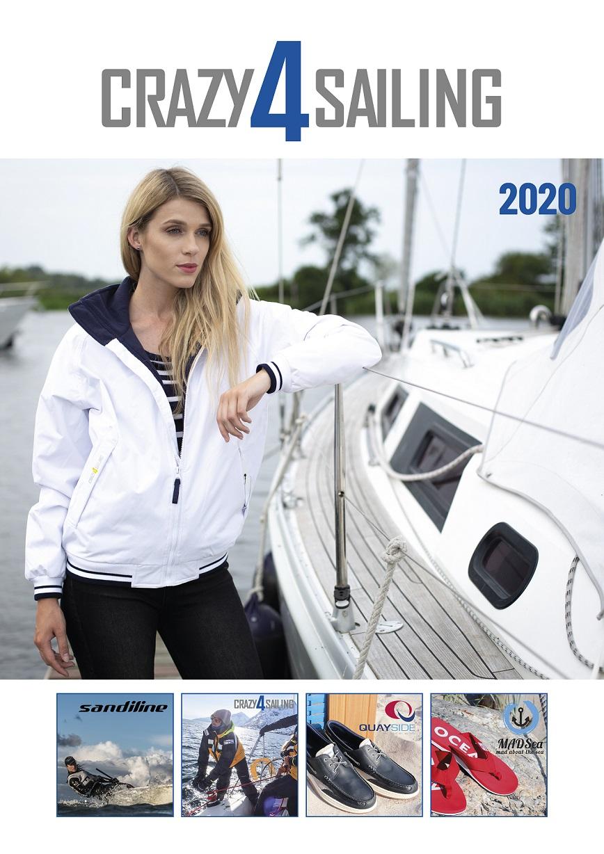 crazy4sailing - Katalog 2020 Funktionsbekleidung, maritime Mode und mehr