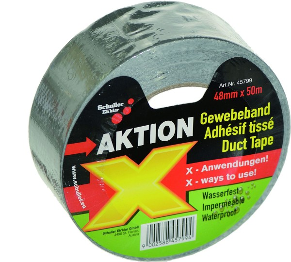 Duct Tape 50 m x 50 mm silver