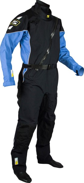 Trockenanzug PRO II schwarz/blau