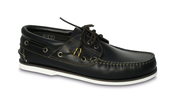 Schuh Comfort navyblau / w. Sohle