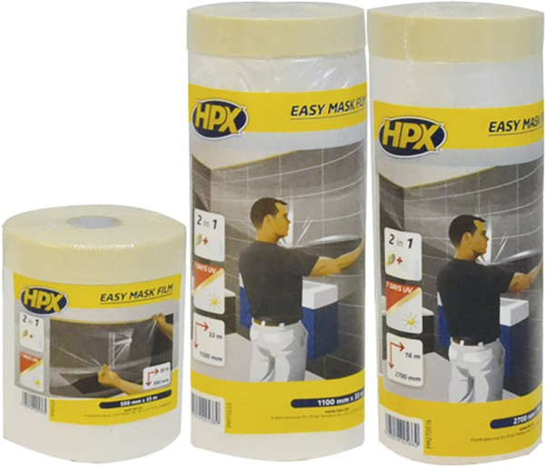 Easy mask film crepe paper - 550mm x 33m
