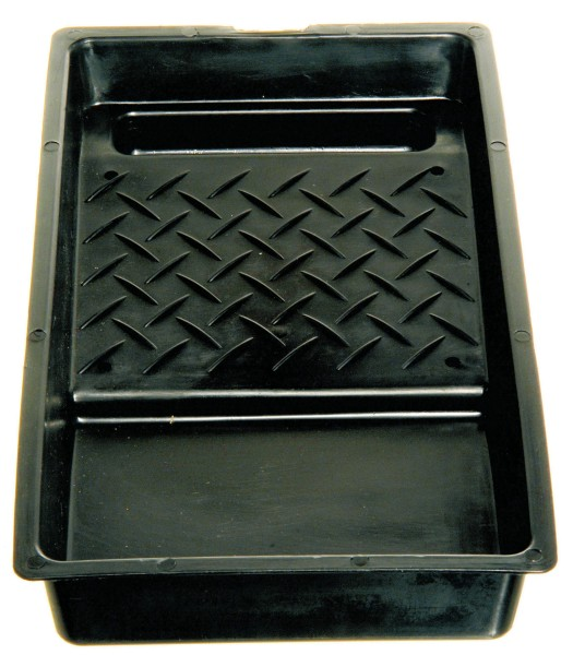 "Roller Tray, black, fits 4"" rollers"